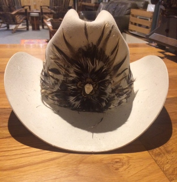 Stetson Feather Cowboy Hat