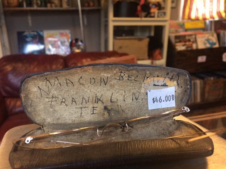 Vintage Glasses and Case