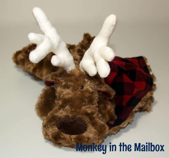 f3511f0be3 Deer Lovey Blanket custom minky security blanket Lovie