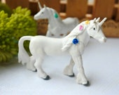 Miniature Animal Figures ,miniature UNICORN ,tiny unicorn Figure For Fairy Gardens Doll House Supply Small Animals Art Craft Toy(M-05)
