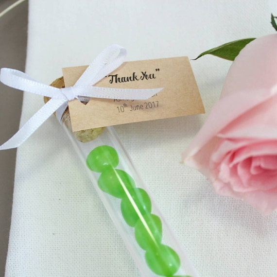 Jelly Bean Wedding Favours Test Tubes 20ml Etsy