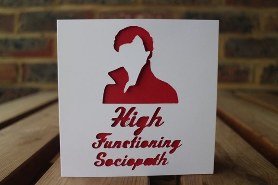High functioning sociopath