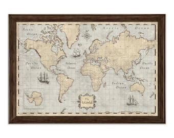 World map poster etsy best selling items gumiabroncs Gallery