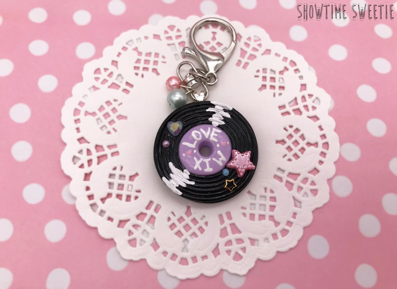 Love Mix Record Necklace