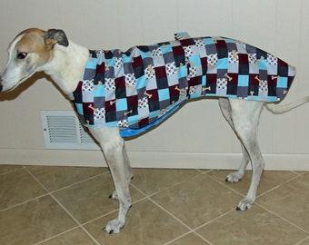 Greyhound Jammie, Paws & Bones, P19 Size Large