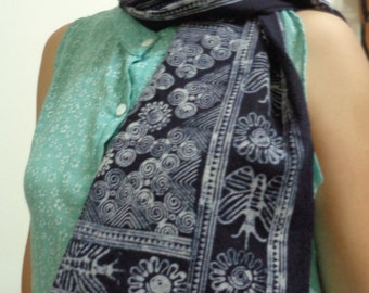 Dzay Scarf - 100% Cotton batik fabric