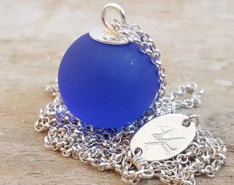 Rebecca Necklace  - Ocean Blue