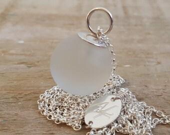 Rebecca Necklace  - Arctic White