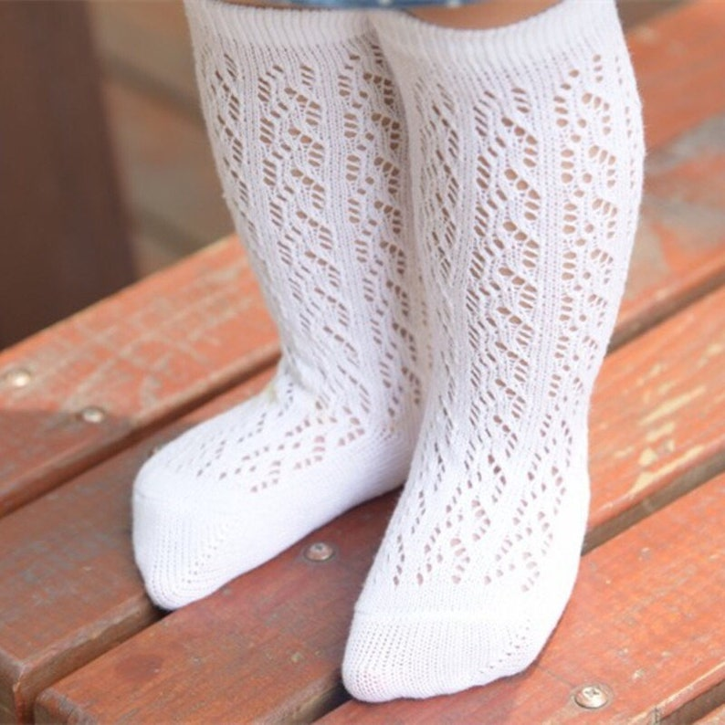 timeless design outstanding features clear and distinctive Knee High Socks - Baby Girls Knee High Socks - Girls Knee High Socks -  Toddler Knee High Socks - Girls Boot Socks - School Socks