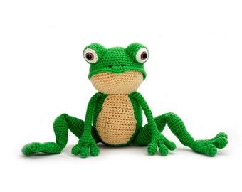 Crochet pattern Frog - amigurumi - instant download pdf