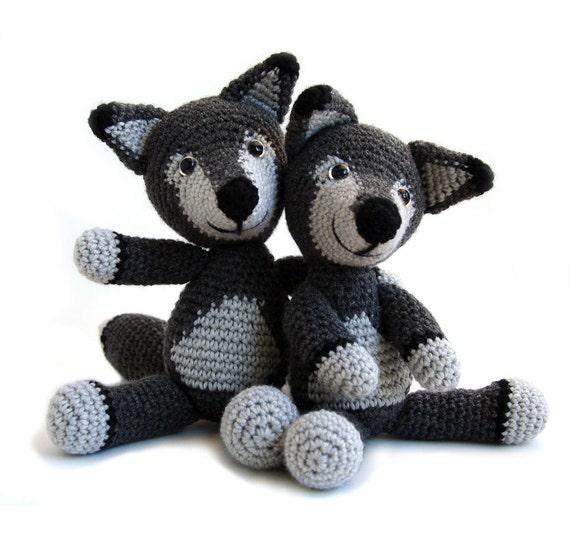 Crochet Pattern Wolf Amigurumi Instant Download Pdf Etsy