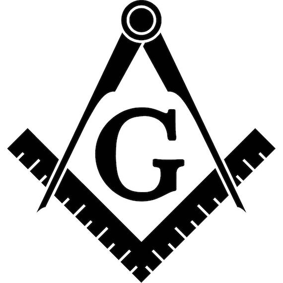 Freemason Logo Vinyl Sticker Decal Symbol Templar Masonic