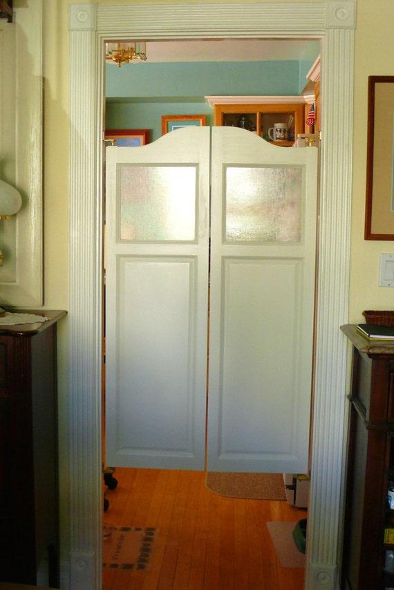 Poplar Cafe Doors Saloon With Glass Window Kit
