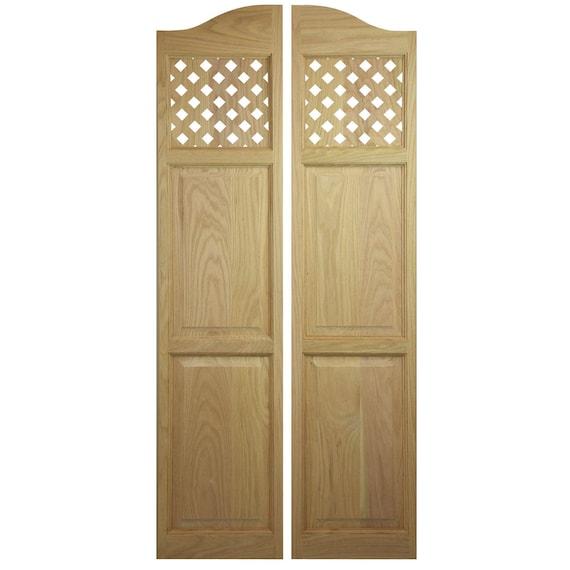 Attrayant Custom Oak Full Length Swinging Interior Doors Cafe Doors / | Etsy