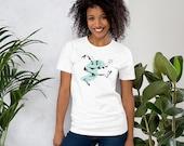 Lindy Hop Dancer, Frankie Manning - Unisex Short Sleeved T-Shirt