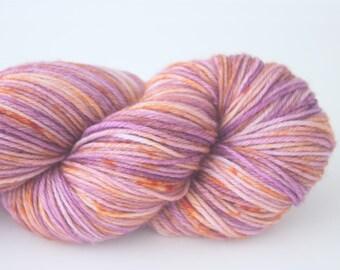 "Peachface Fingering ""Iris Blooms"" Hand Dyed Yarn"