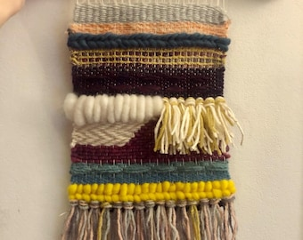 Weaved Wall Hanging 14 x 8.5 ins