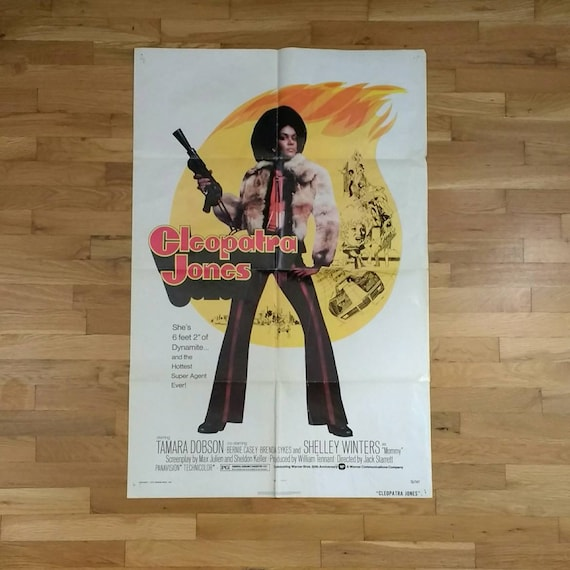 Cleopatra Jones 70s Exploitation Film Original 27x41 Etsy