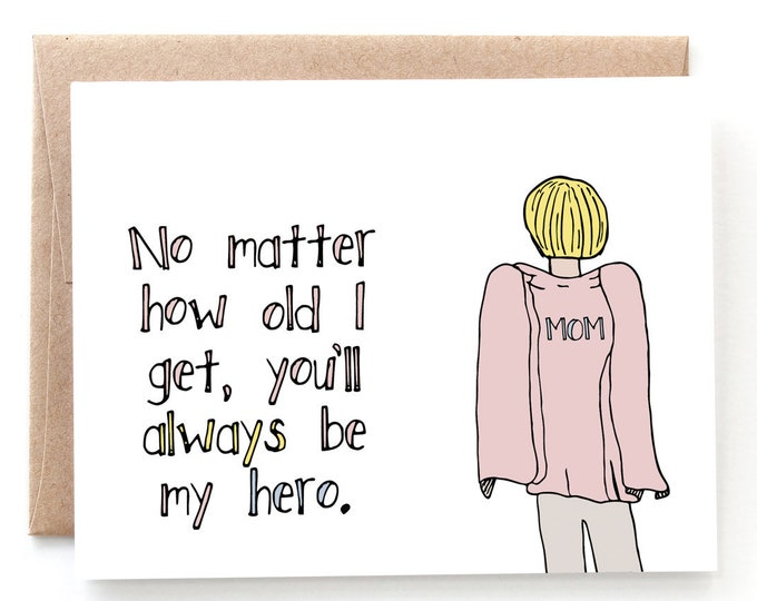 My Hero - Mother's Day Card
