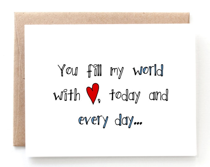 Fill My World with Love