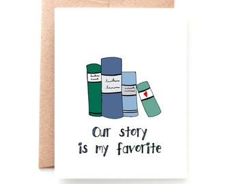 Our Story, Anniversary Card