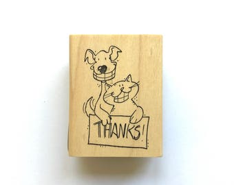 Thanks Pets Stamp