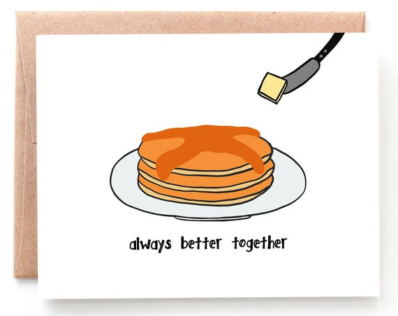 Better Together, Pancakes Card