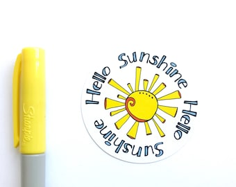 Hello Sunshine Stickers