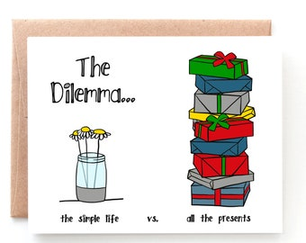 The Dilemma Christmas Card