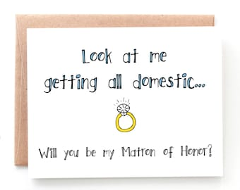 Be My Matron of Honor