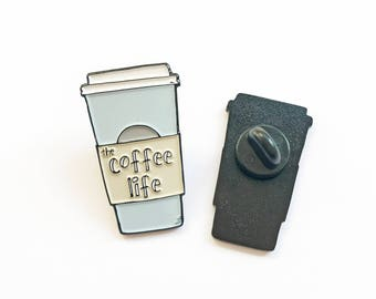 Coffee Pin Black