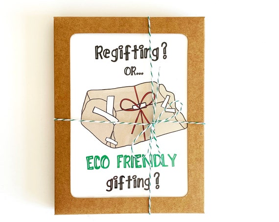 Regifting Holiday Card - Set of 8 Boxed Cards