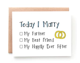 My Happily Ever After - Wedding Day Card