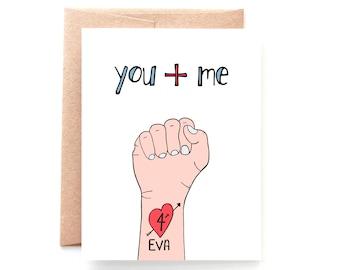 4Eva, Valentine Card