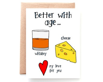 Better With Age, Anniversary Card