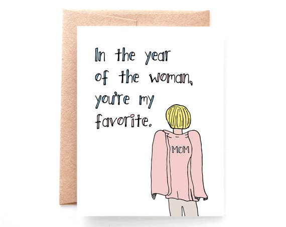 Year of the Woman Card