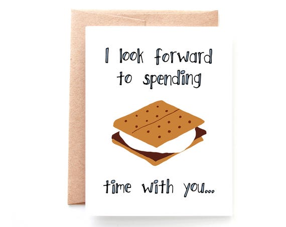 S'More Time, Valentine's Day Card