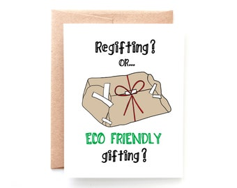 Regifting Holiday Card