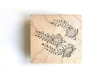 Leatherback Turtle Stamp