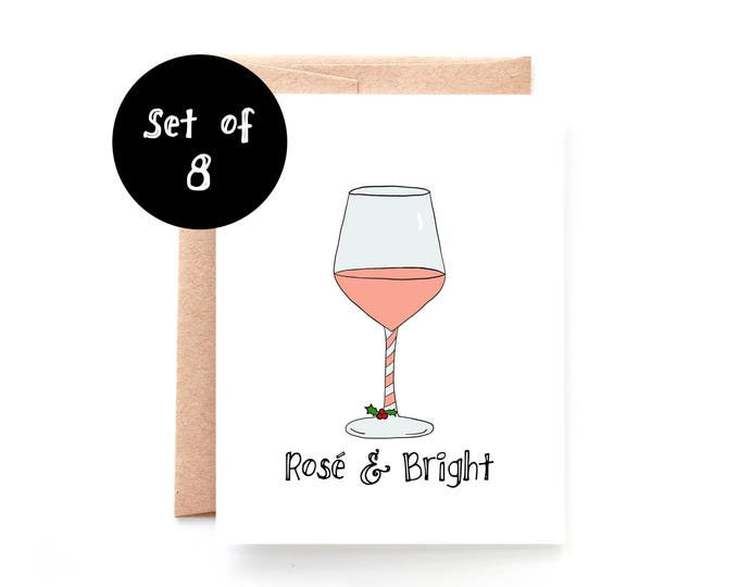Rose and Bright Set of 8