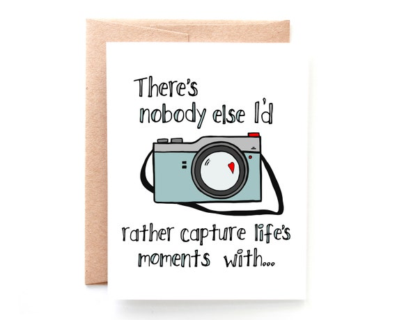 Capture Life's Moments, Love Card