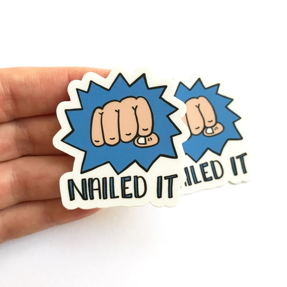 Nailed It Stickers, Set of 2