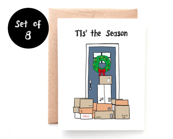 Tis the Season Holiday - Set of 8 Cards
