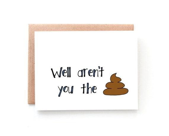 Congratulations Card Funny Congratulations Card Job Etsy