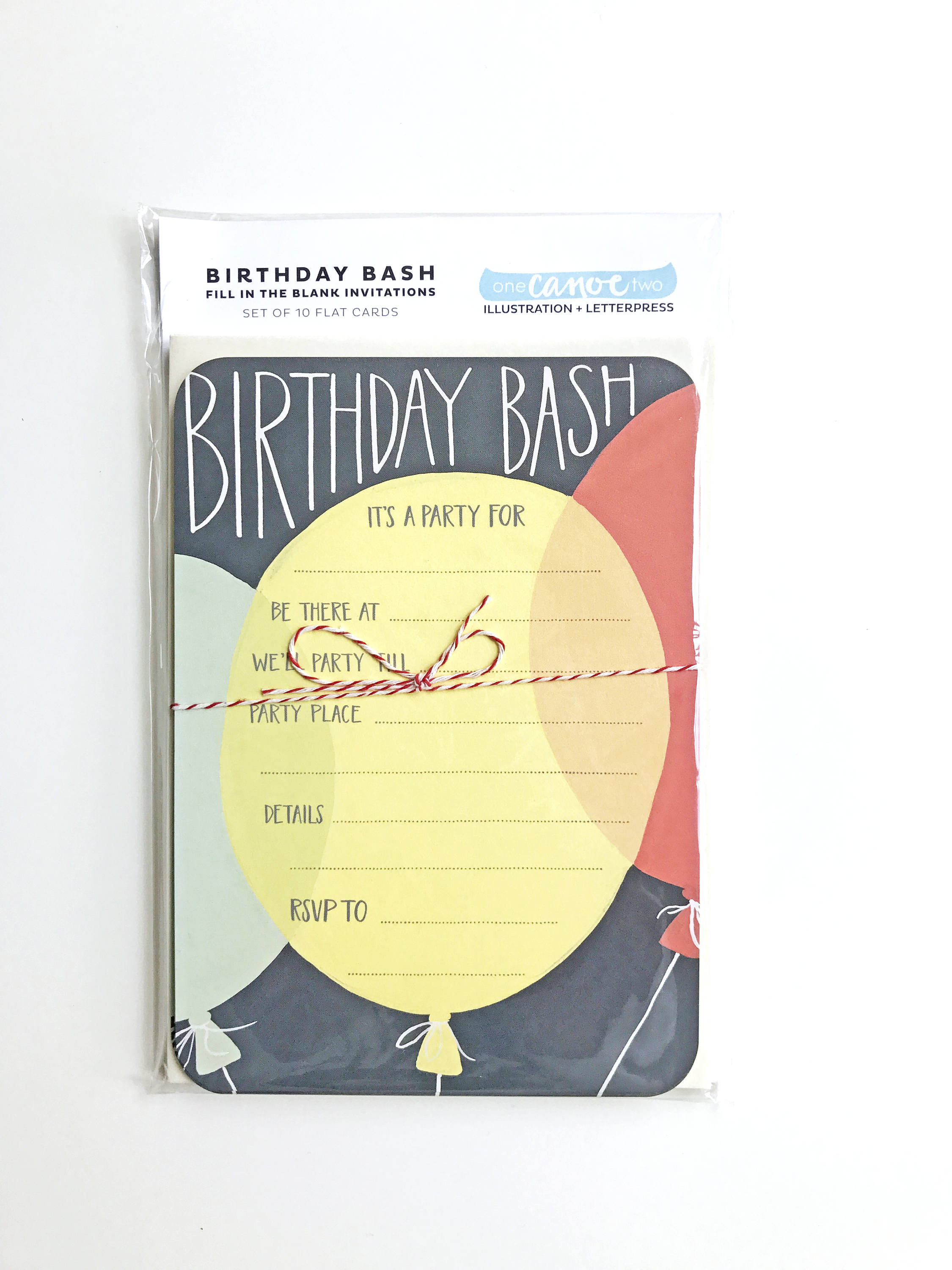birthday party invitations fill in the blank invitations set of