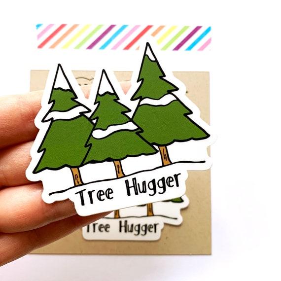Tree Hugger Stickers, Set of 2