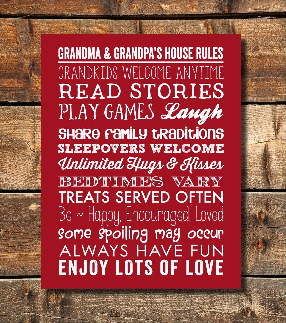 Großeltern Geschenke Oma Geschenk Geschenke für Oma | Etsy