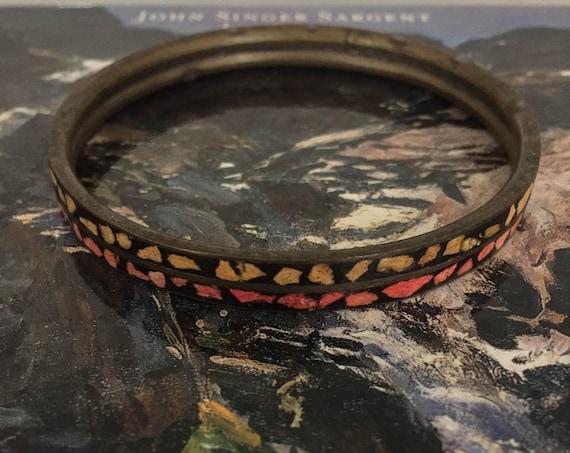 Vintage Bracelets Jewelry Vintage Bracelets Vintage Jewelry Enamel Bracelets Enamel Bangle Vintage Accessories Modernist Women's Jewelry