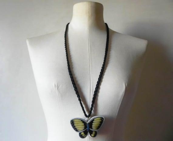 Vintage Women's Butterfly Pendant