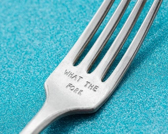 What The Fork Funny Gifts For Best Friends Birthday, Foodie Gifts For Her, Hostess Chef Gifts For Him, Housewarming Gifts Healthcare Worker